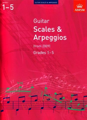 Guitar Scales Arpeggios Grades 1 5