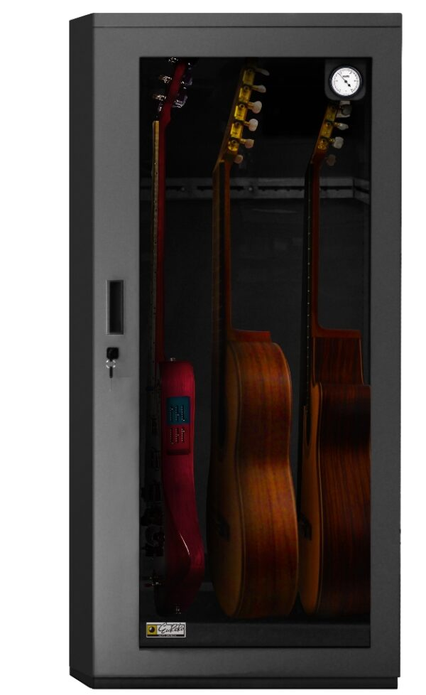 Guitar dry cabinet compressed