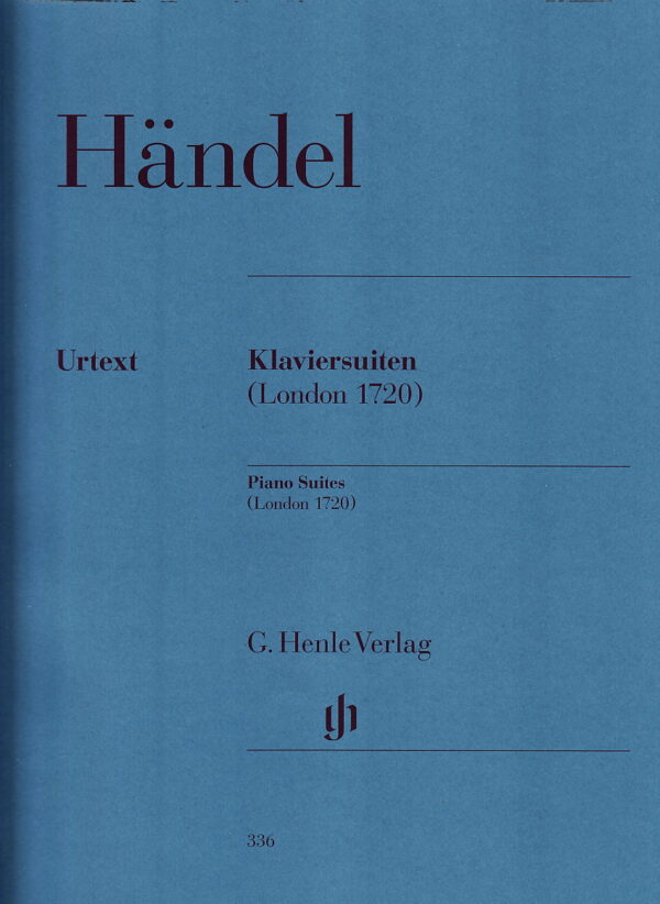 Handel Piano Suites London 1720