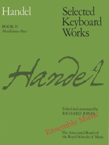 Handel Selected keyboard works book 2