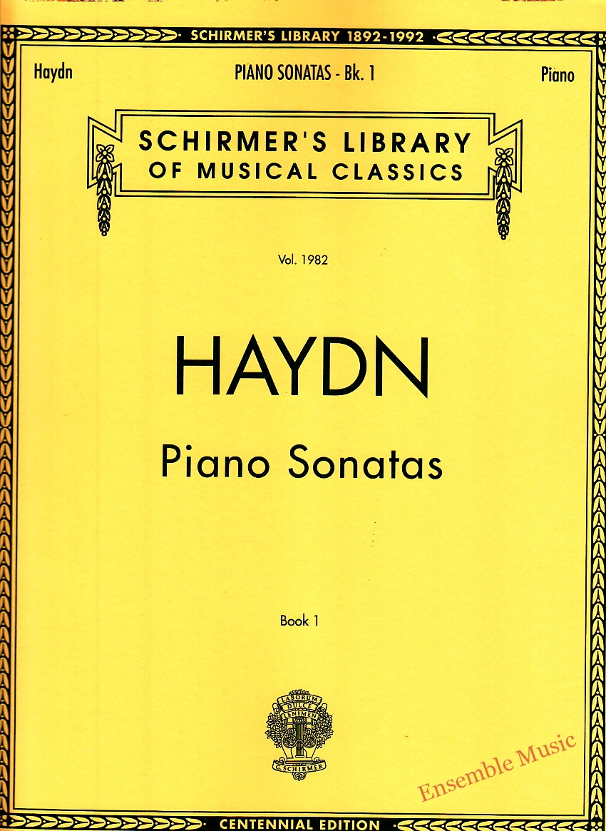 Haydn Piano Sonatas Book 1