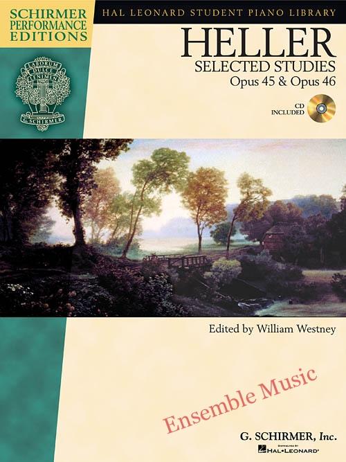 Heller Selected Piano Studies Opus 45 46 CD Included