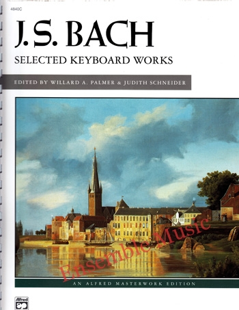 J.S Bach Selected Keyboard Works