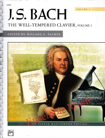 J.S Bach The Well Tempered Clavier Volume I