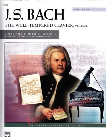 J.S Bach The Well Tempered Clavier Volume II