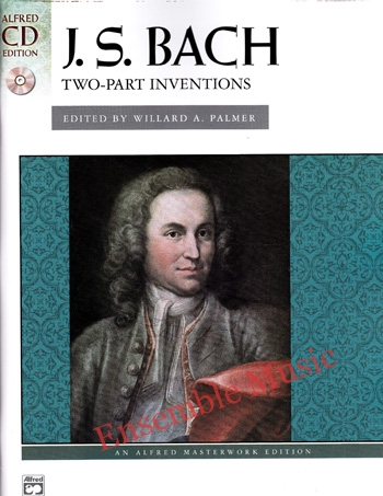 J.S Bach Two Part Inventions With CD