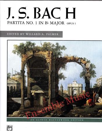 J.S. Bach Partita No 1 in B flat Major Opus 1