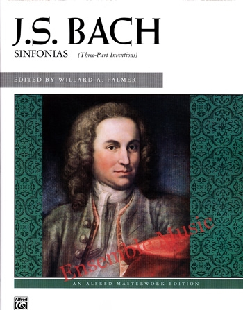 J.S. Bach Sinfonias Three Part Inventions