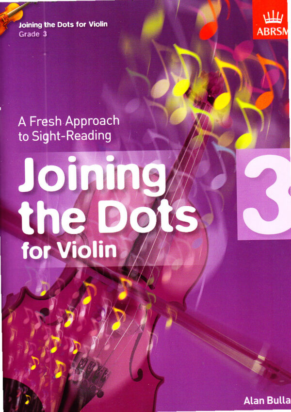 Joining the dots for violin 3