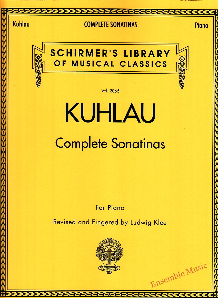 Kuhlau Complete Sonatinas For Piano