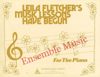 Leila fletchers music lessons have begun