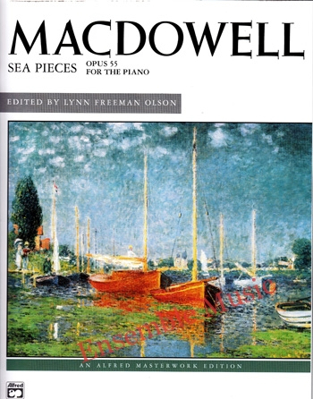 Macdowell Sea Pieces Opus 55
