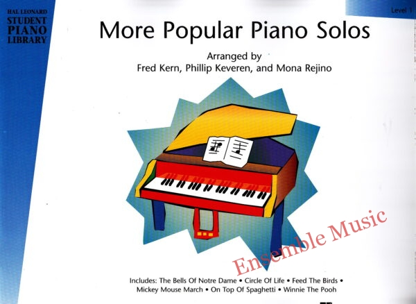 More Popular Piano Solos Level 1