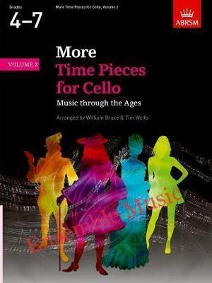 More time pieces for cello grades4 7