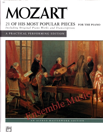 Mozart 21 of His Most Popular Pieces