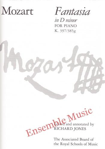 Mozart Fantasia in D minor for Piano K 397 385g