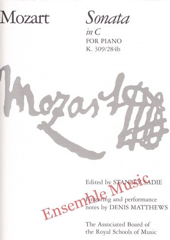 Mozart Sonata in C for Piano K 309 284b