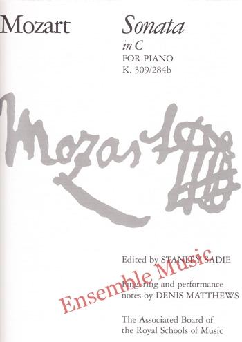 Mozart Sonata in C for Piano K 309 284b