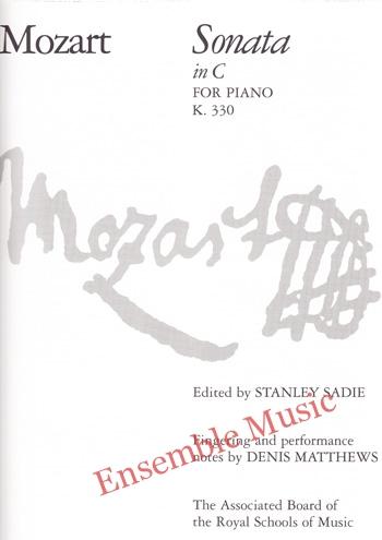 Mozart Sonata in C for Piano K 330