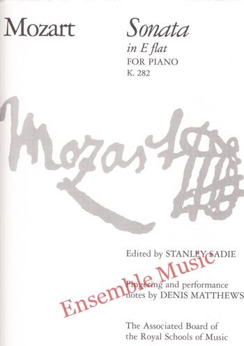 Mozart Sonata in E flat for Piano K 282