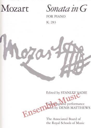 Mozart Sonata in G for Piano K 283