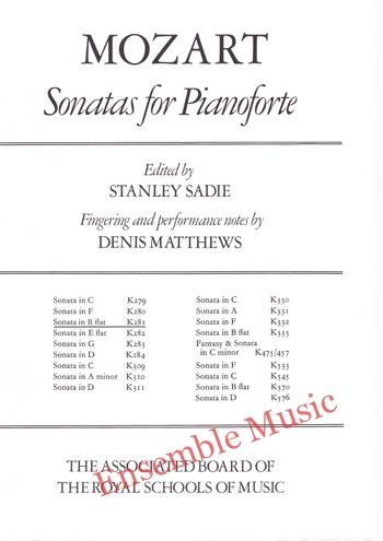 Mozart Sonatas for Pianoforte Sonata in B flat K281