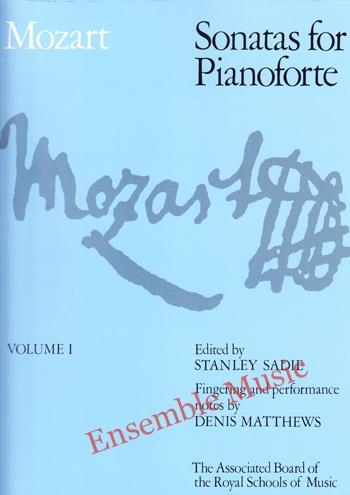 Mozart Sonatas for Pianoforte Vol 1