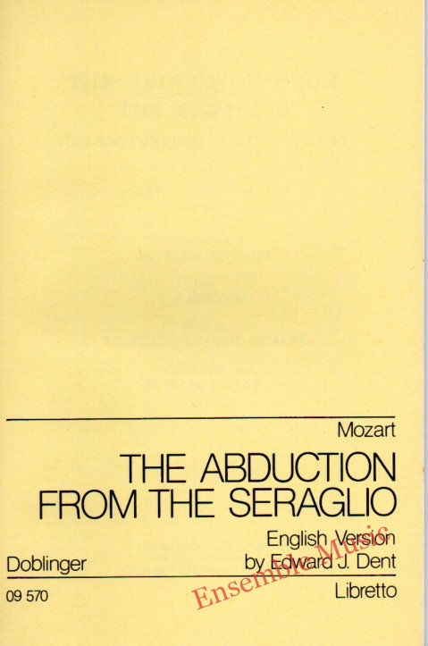 Mozart the abduction from the seraglio 1