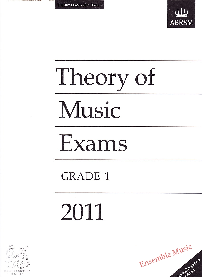 Music Theory Past Papers 2011 Gr 1 1