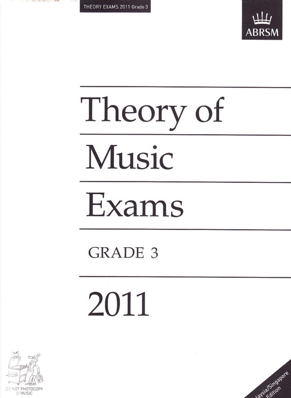 Music Theory Past Papers 2011 Gr 3 2