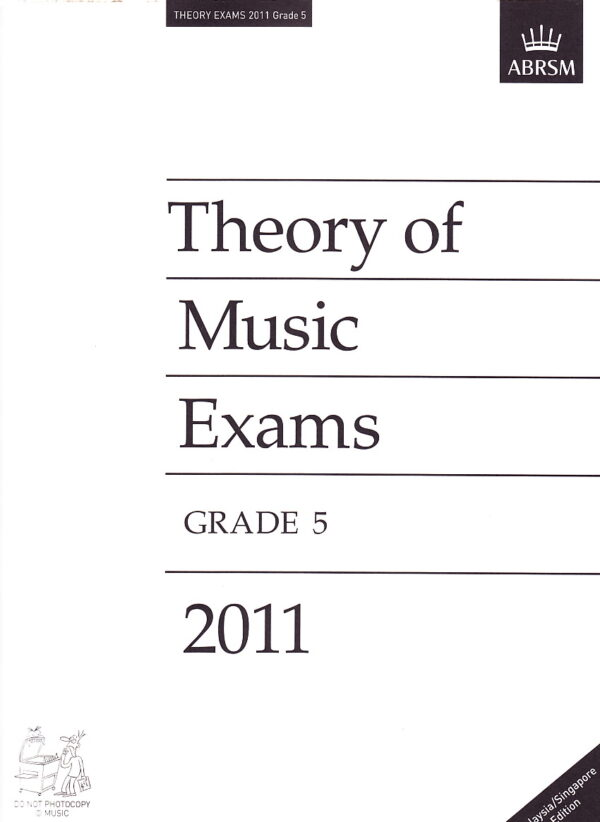 Music Theory Past Papers 2011 Gr 5 1