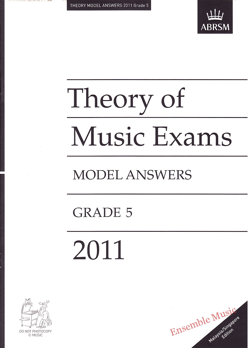 Music Theory Past Papers 2011 Model Answers Gr 5