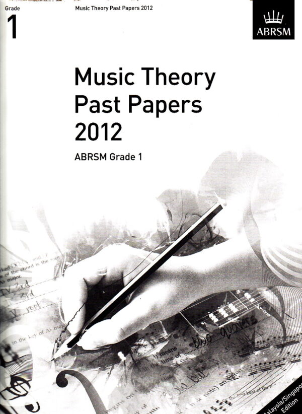 Music Theory Past Papers 2012 Gr 1