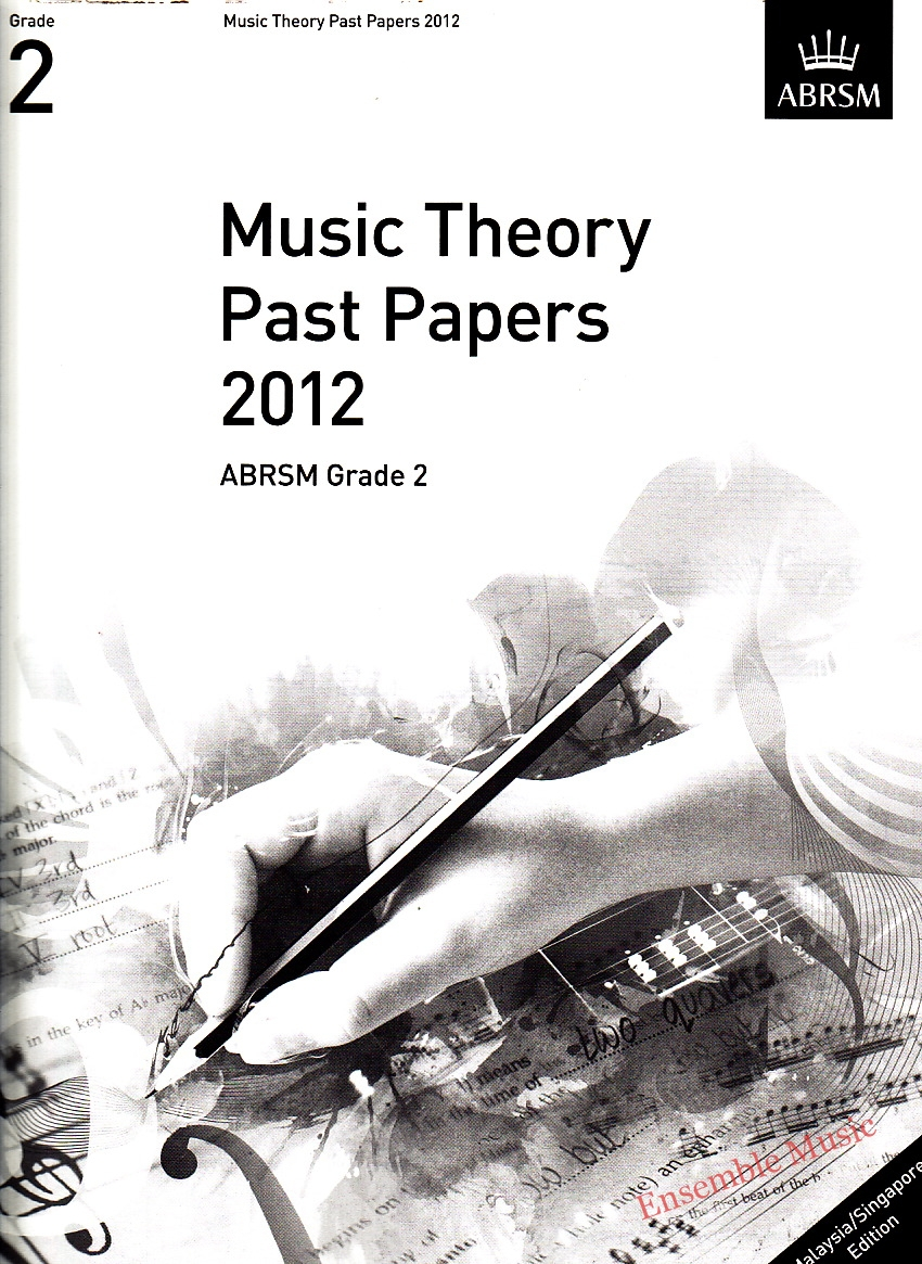Music Theory Past Papers 2012 Gr 2