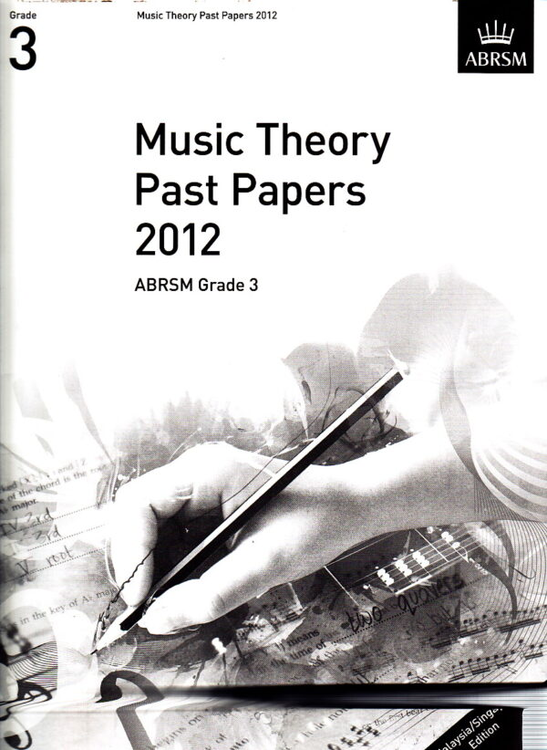 Music Theory Past Papers 2012 Gr 3