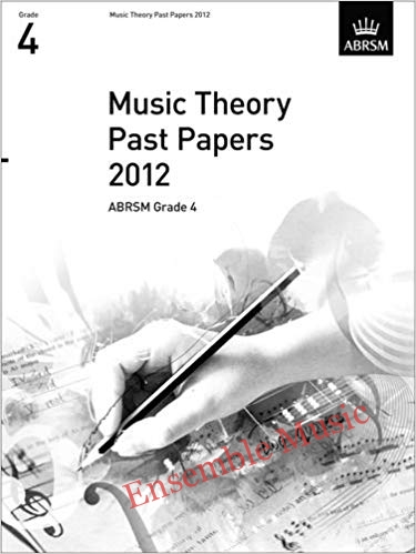 Music Theory Past Papers 2012 Gr 4 1