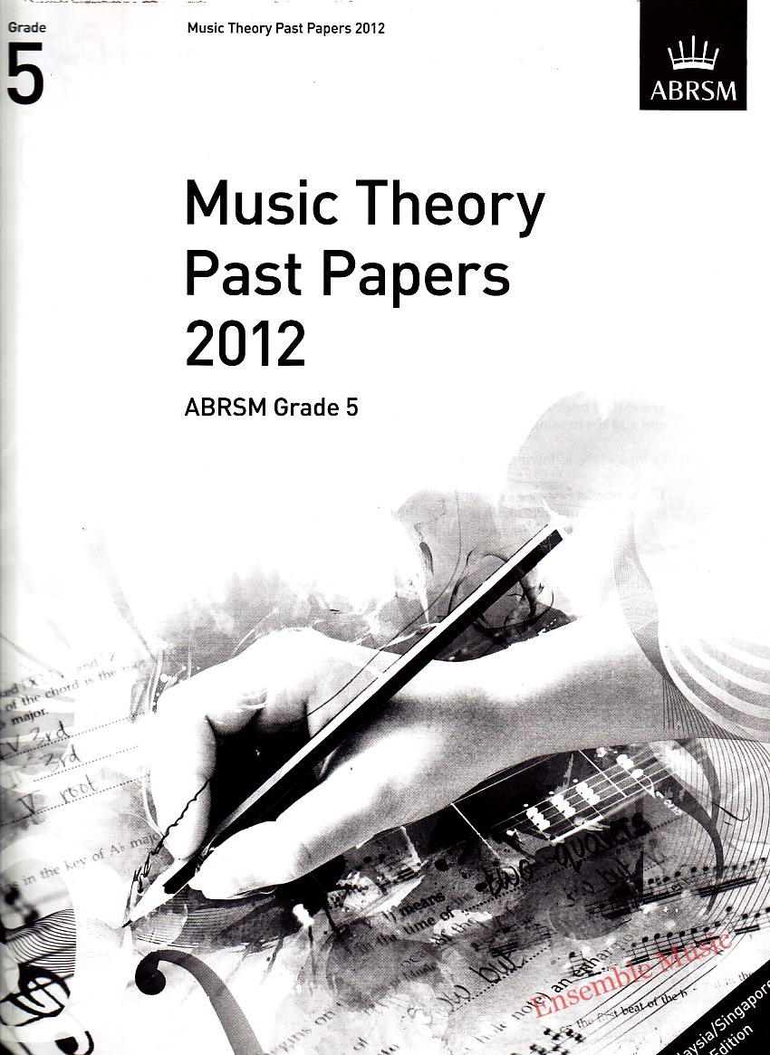 Music Theory Past Papers 2012 Gr 5 1