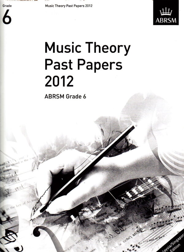 Music Theory Past Papers 2012 Gr 6 1