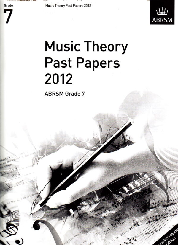 Music Theory Past Papers 2012 Gr 7
