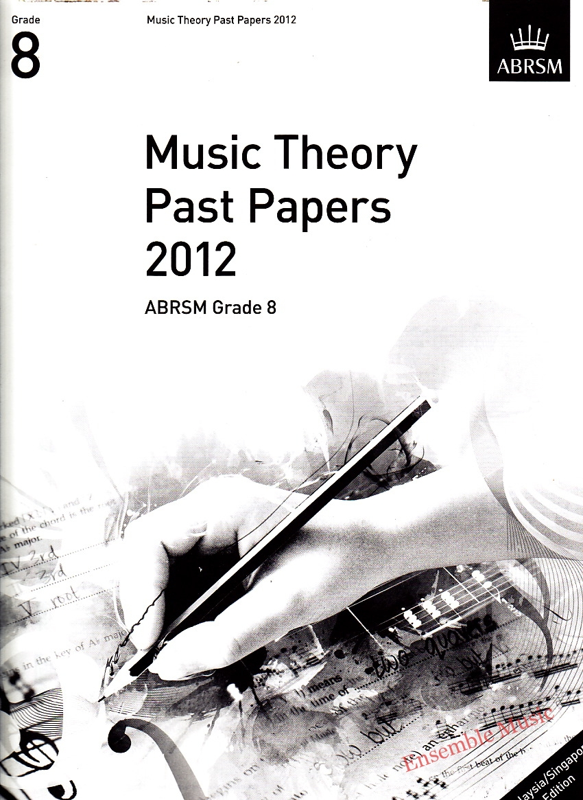 Music Theory Past Papers 2012 Gr 8