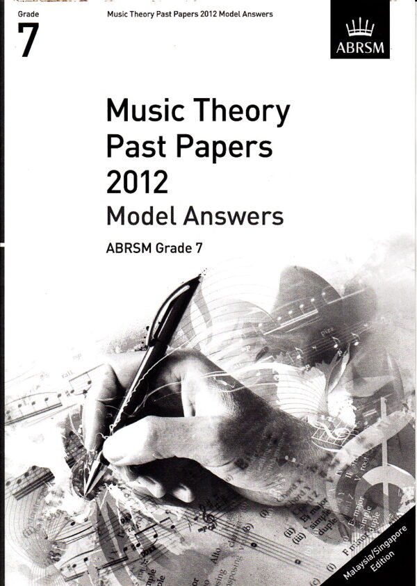 Music Theory Past Papers 2012 Model Answers Gr 7