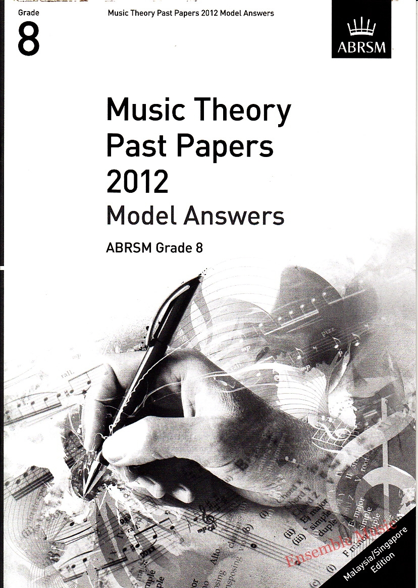 Music Theory Past Papers 2012 Model Answers Gr 8