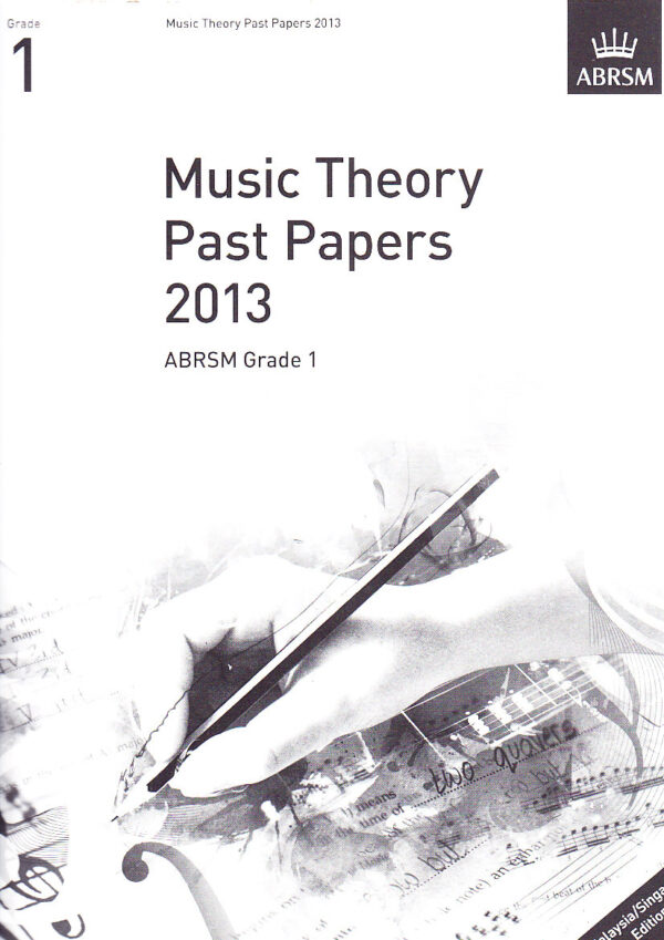 Music Theory Past Papers 2013 Gr 1