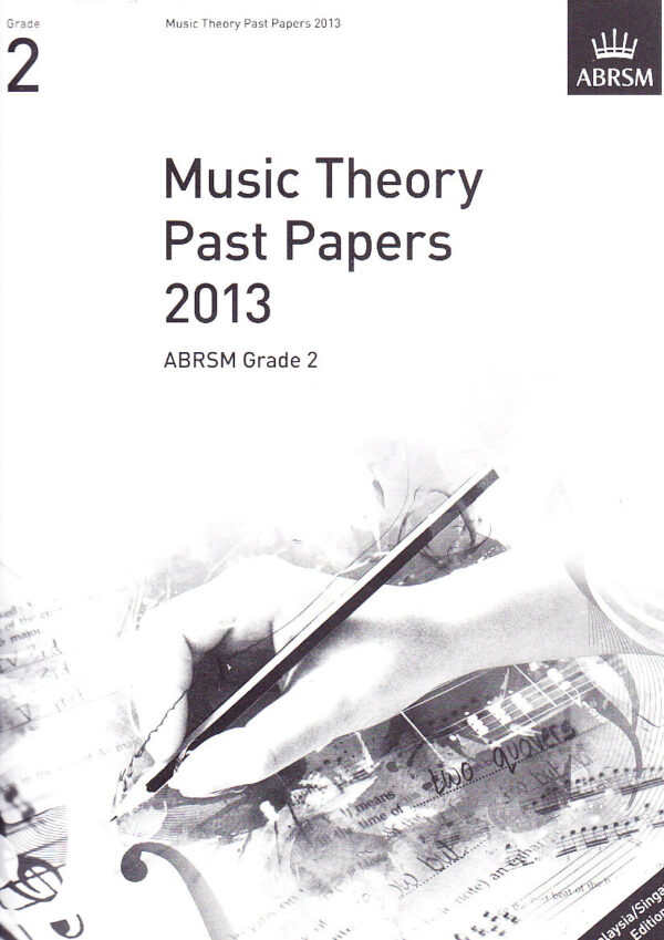 Music Theory Past Papers 2013 Gr 2