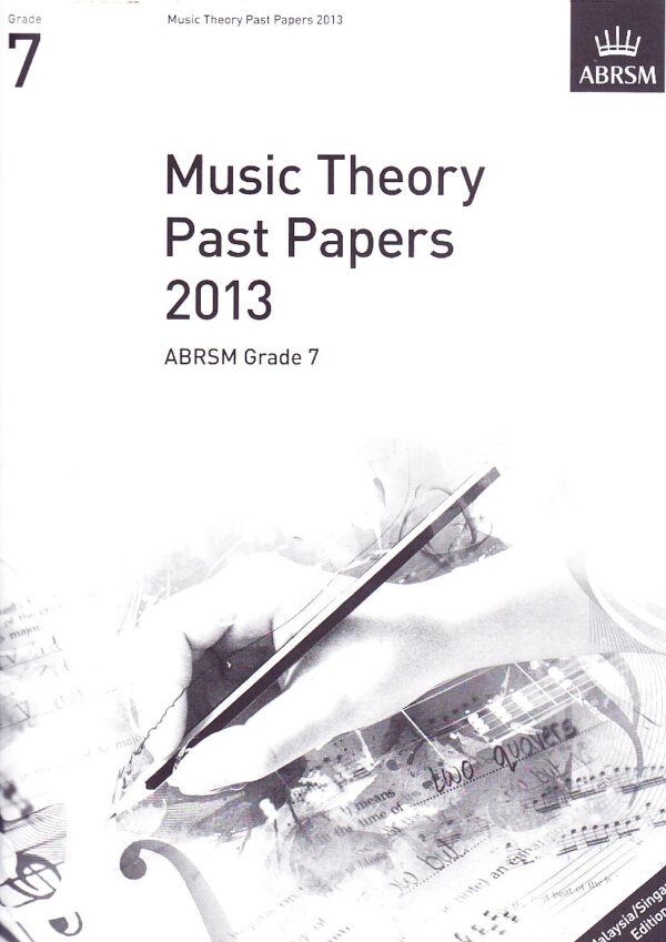 Music Theory Past Papers 2013 Gr 7