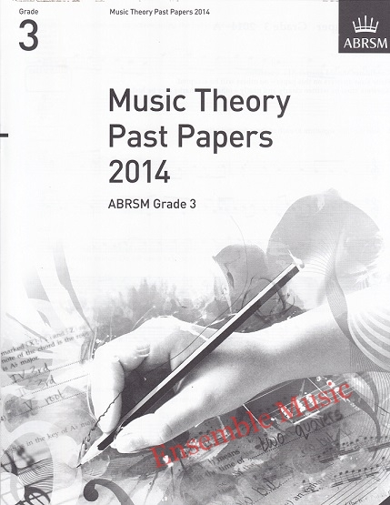 Music Theory Past Papers 2014 Gr 3 1