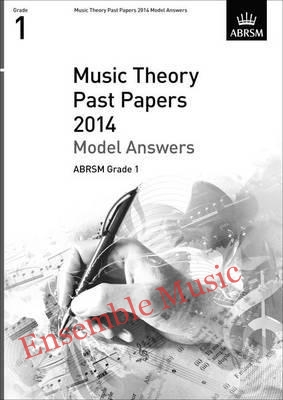Music Theory Past Papers 2014 Model Answers Gr 1