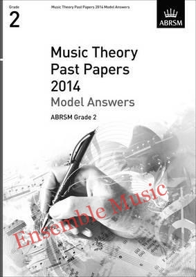 Music Theory Past Papers 2014 Model Answers Gr 2