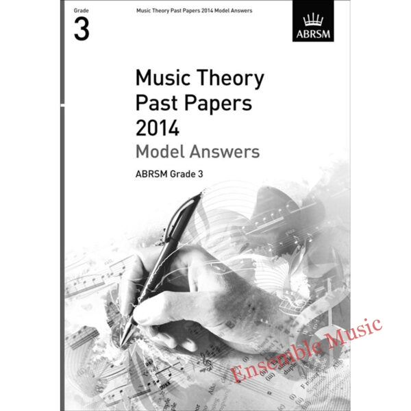 Music Theory Past Papers 2014 Model Answers Gr 3