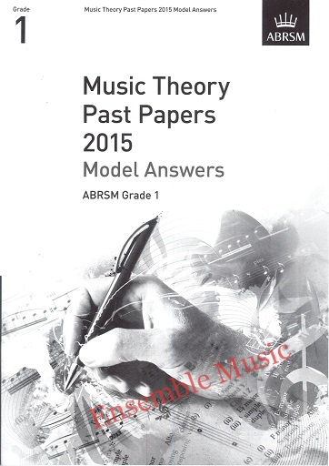 Music Theory Past Papers 2015 Gr 1 model anwers